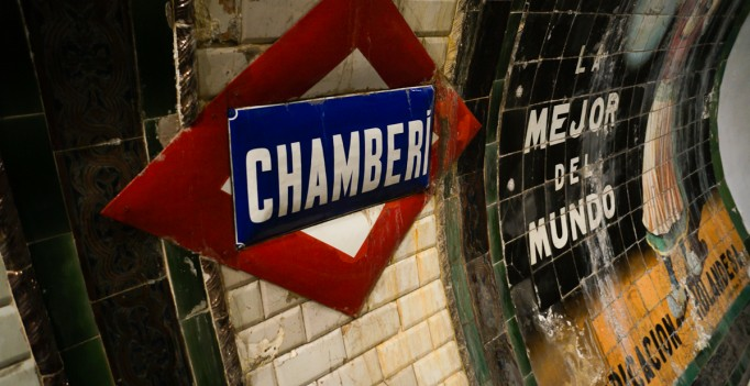 chamberi metro madrid
