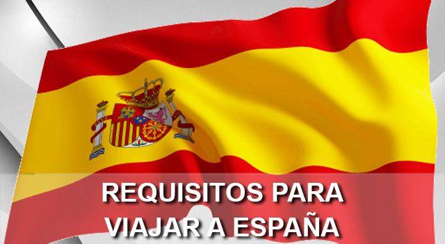 Requisitos para viajar sin visa a España