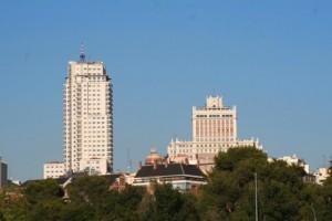 torre madrid y edificio españa